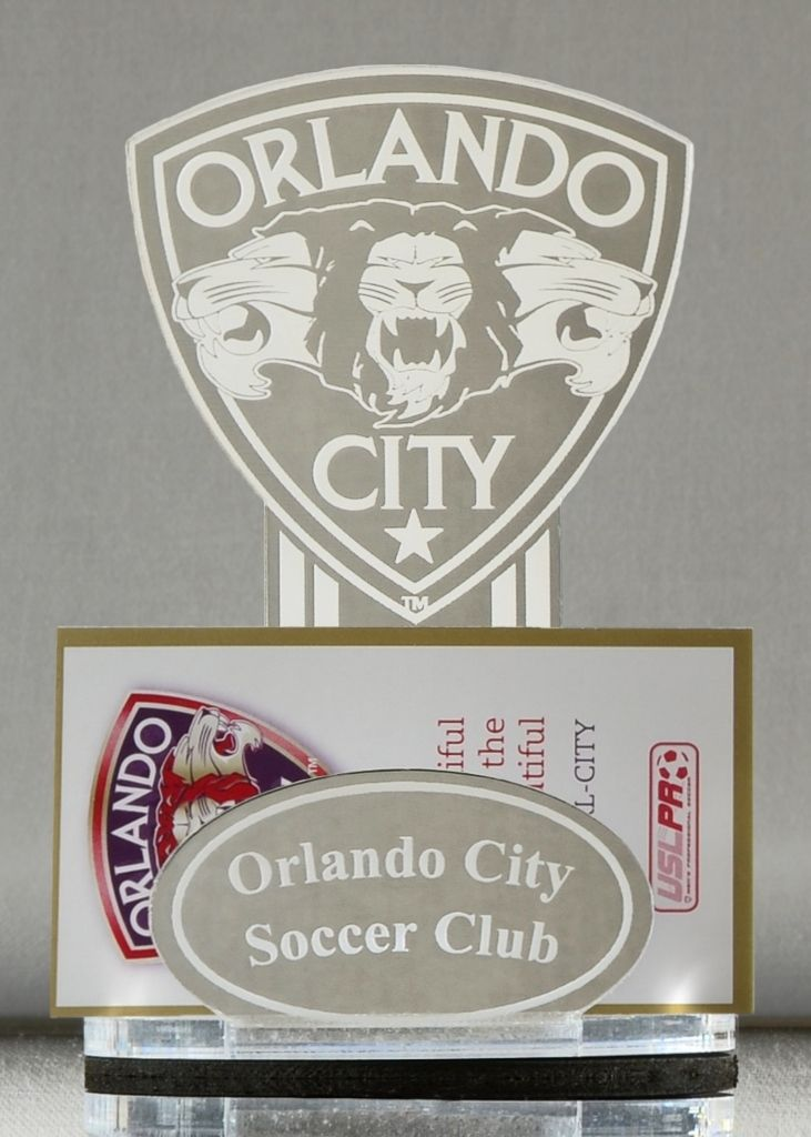 PBM Mirror MAR1 Vintage Orlando City Soccer Business Card Holder ...