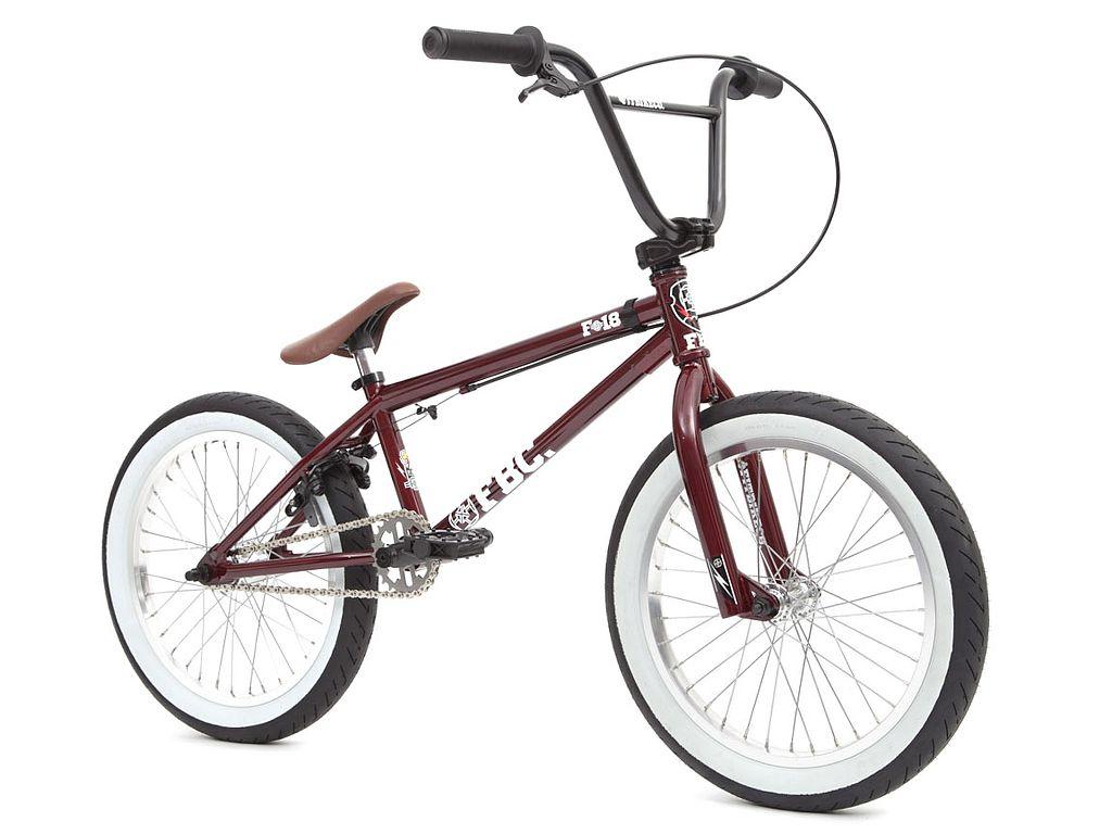 fit bike co eighteen 2019 bmx bike 18 inch white. Black Bedroom Furniture Sets. Home Design Ideas