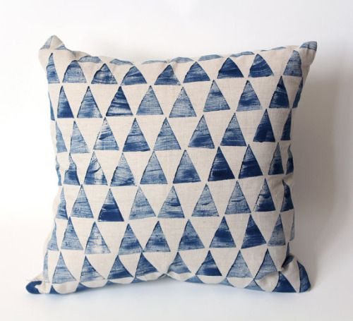 Hand painted pillow via Etsy. Shop this PICT