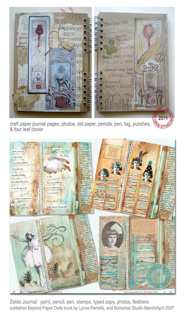 Junk Journal Clippings Zelda