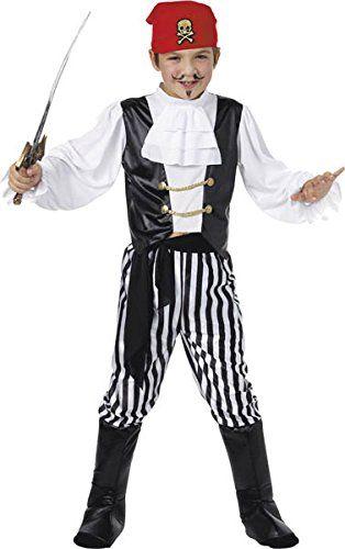 Large Boys Pirate Costume Smiffyu0027s //smile.amazon.com/dp/B000H3RFVC/refu003dcm_sw_r_pi_dp_x_D4JVyb4SNBZ7G   STARS Peter Pan 2017   Pinterest   Boys pirate ...  sc 1 st  Pinterest & Large Boys Pirate Costume Smiffyu0027s https://smile.amazon.com/dp ...