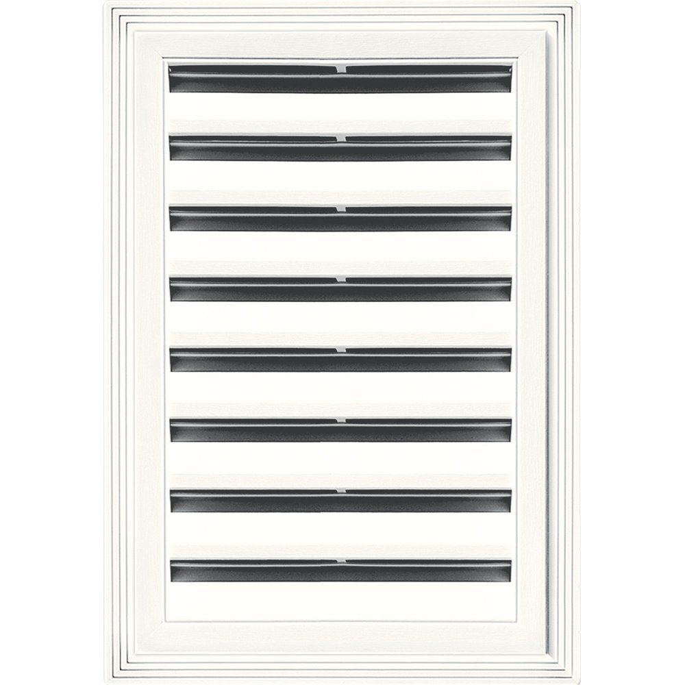 Builders Edge 120061218123 12' x 18' Rectangular Vent 123, White * Check out the image by visiting the link.