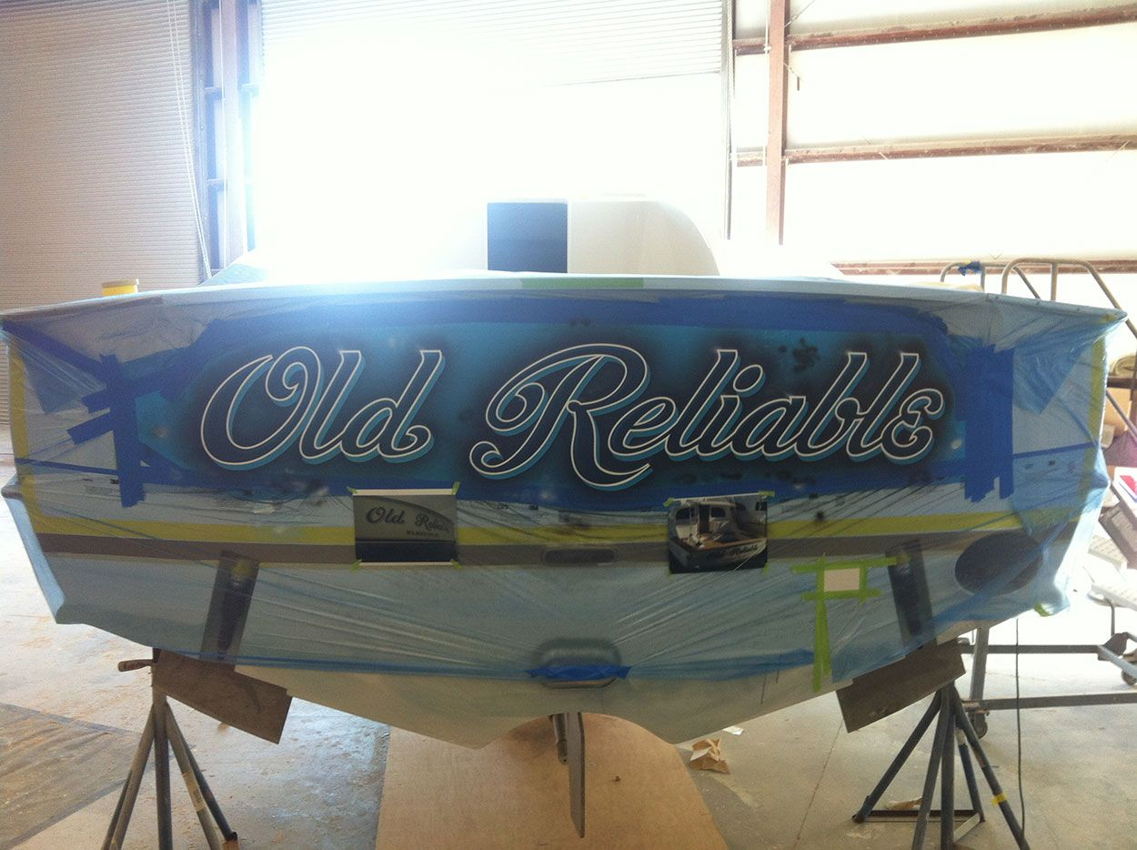 TRANSOM Old Reliable, Winter Custom Yachts Apex North