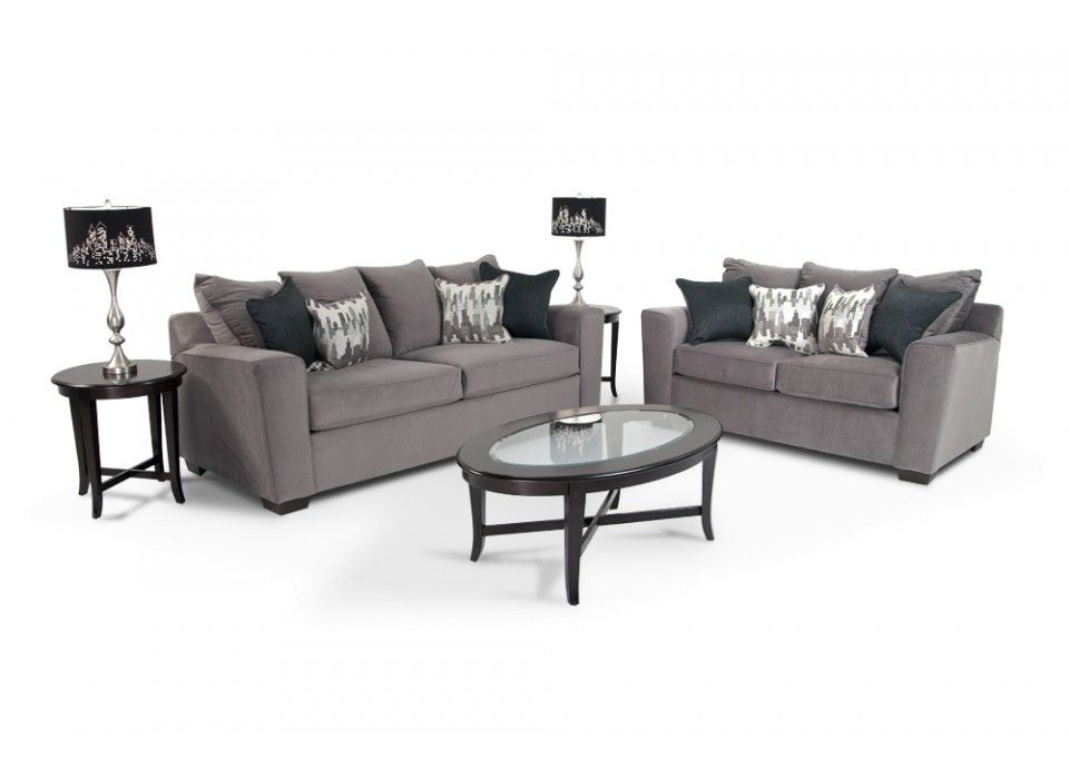 Sofa, Loveseat, Coffee Table, 2 End Tables and 2 Lamps Matt\'s ...