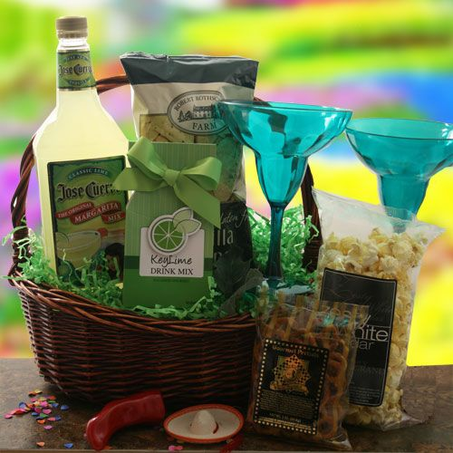 Margarita Craze Margarita Gift Basket | Gift Baskets | Pinterest ...