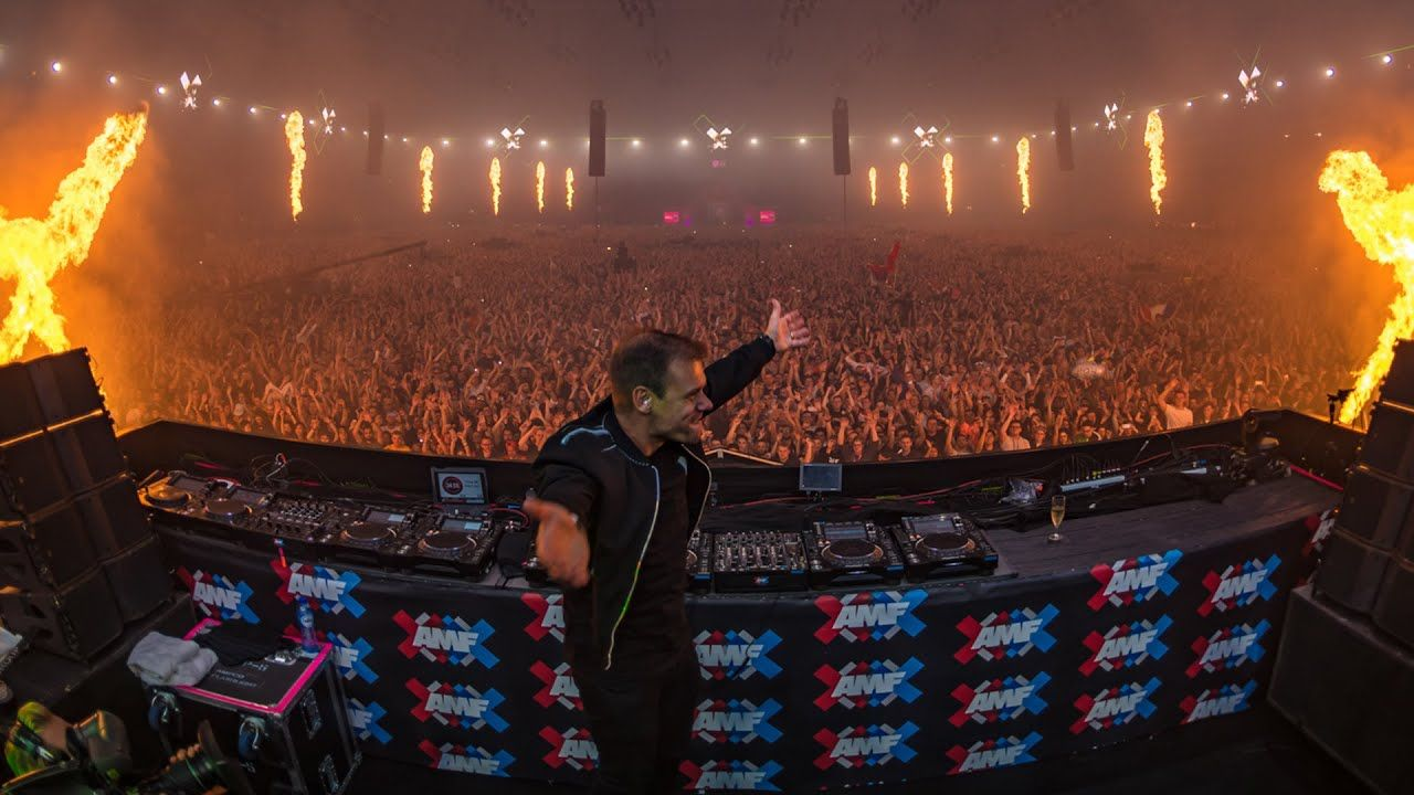 Armin Van Buuren Live At Amf 2019 Amsterdam Music Festival Amsterdam Music Festival Armin Van Buuren Trance Music