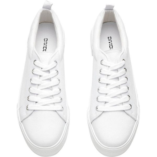 Platform Sneakers $29.99 (679.995 VND) ❤ liked on Polyvore featuring shoes,  sneakers, platform trainers, platform sneakers, platform shoes, ...