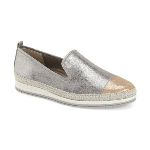 where can i buy buying cheap new release Paul Green 'Joaquin' Espadrille Slip-On Sneaker featuring ...