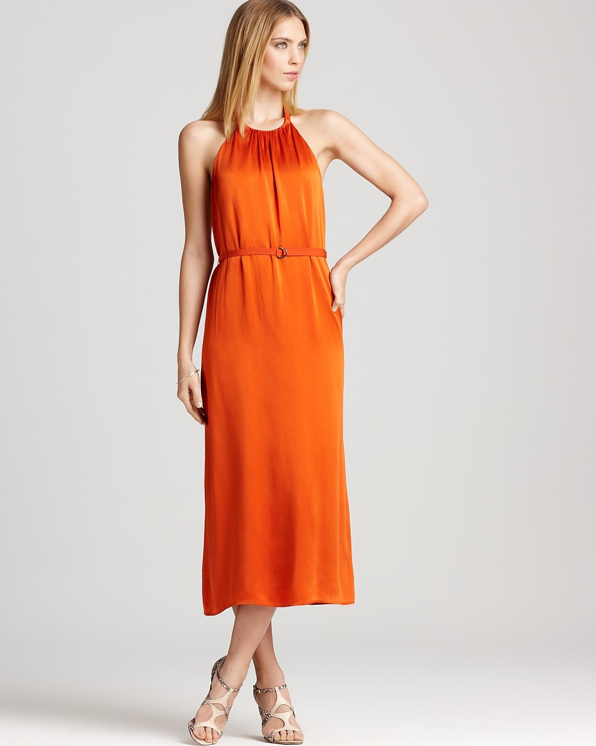 5e3fe81aa8b French Connection Dress - Flowing Halter