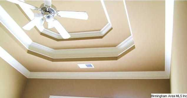 Crown Molding For The Double Tray Ceilings In Our Master Bedroom Tray Ceiling Ceiling Painted Tray Ceilings
