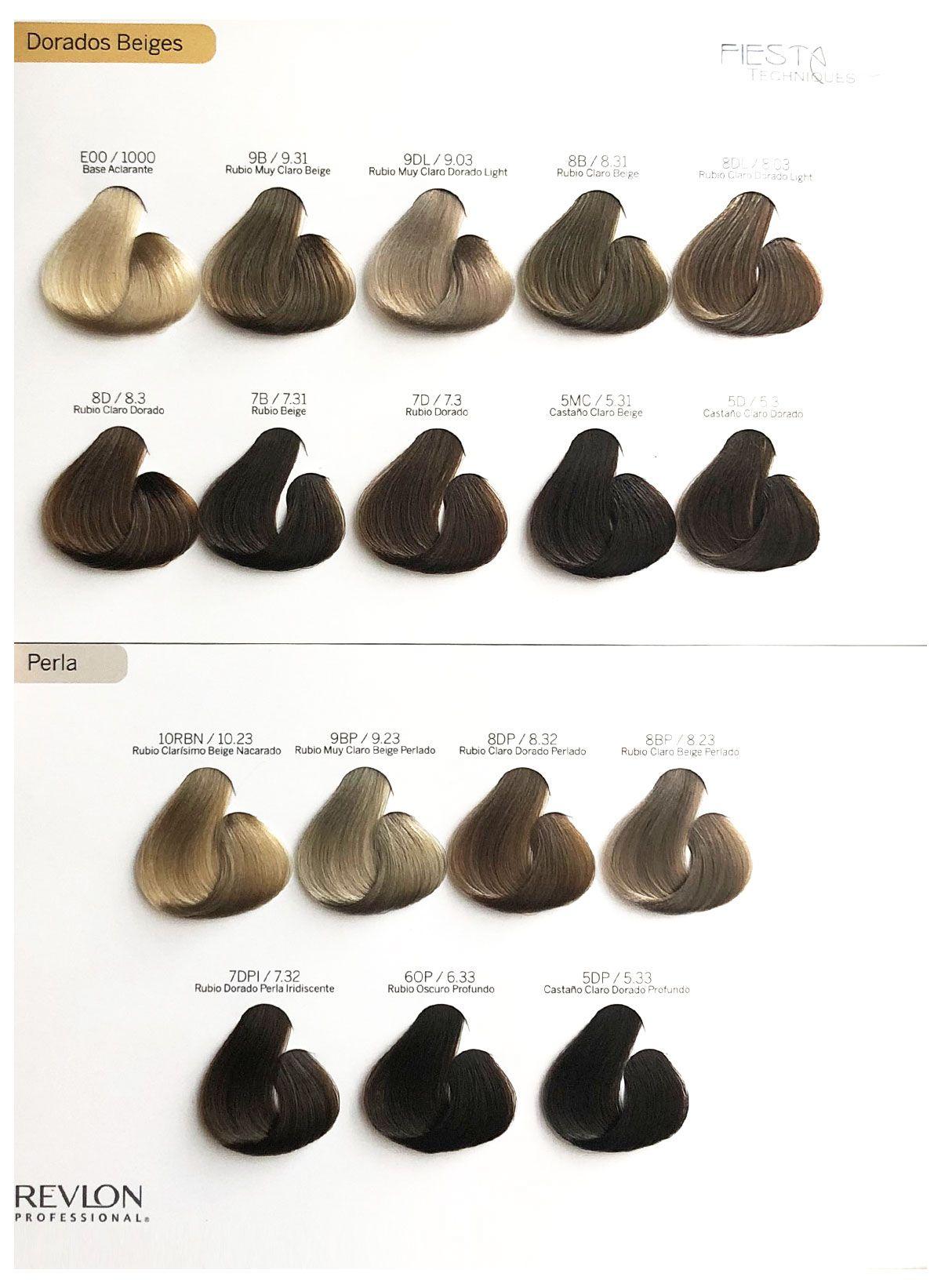 Tonos De Rubio Carta De Colores Pin En Beauty Tips