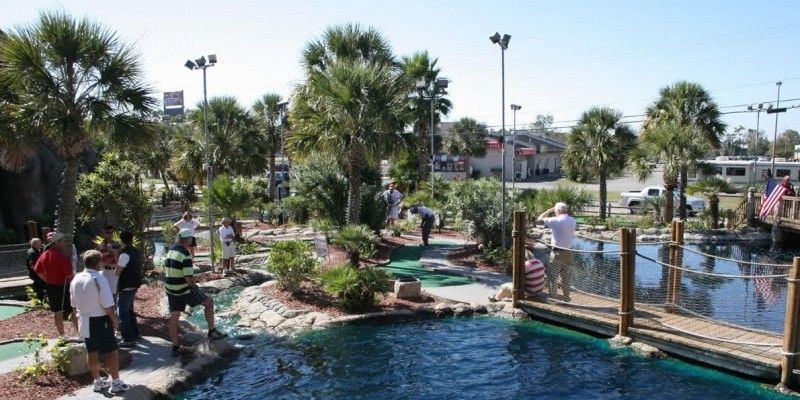 Looking For Great Things To Do In Myrtle Beach On Your Vacation Check Out Hawaiian Rumble Mini Golf North