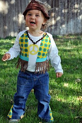 Homemade hippie costume disco party  kids dyi also   fancy dress pinterest rh za
