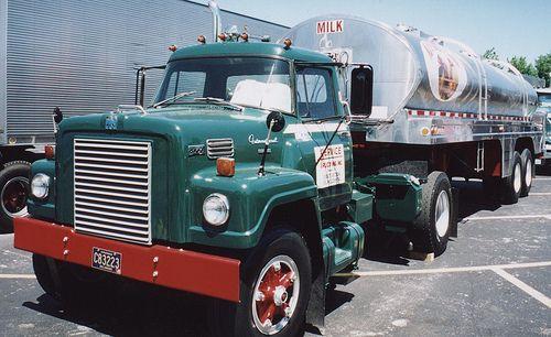 International Milk Tank Truck Model Truck Kits Trucks