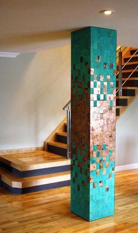 Wood column design best column design ideas on columns - Interior columns design ideas ...