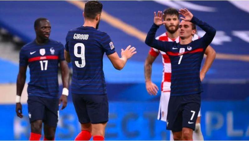 Hasil Pertandingan Prancis Vs Korasia Skor 4 2 Theruniverse Com Di 2020 Prancis Kroasia