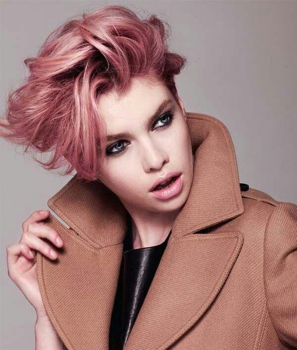 Rose Gold Pixie Ombre Hair Pinterest Hair Short Hair Styles