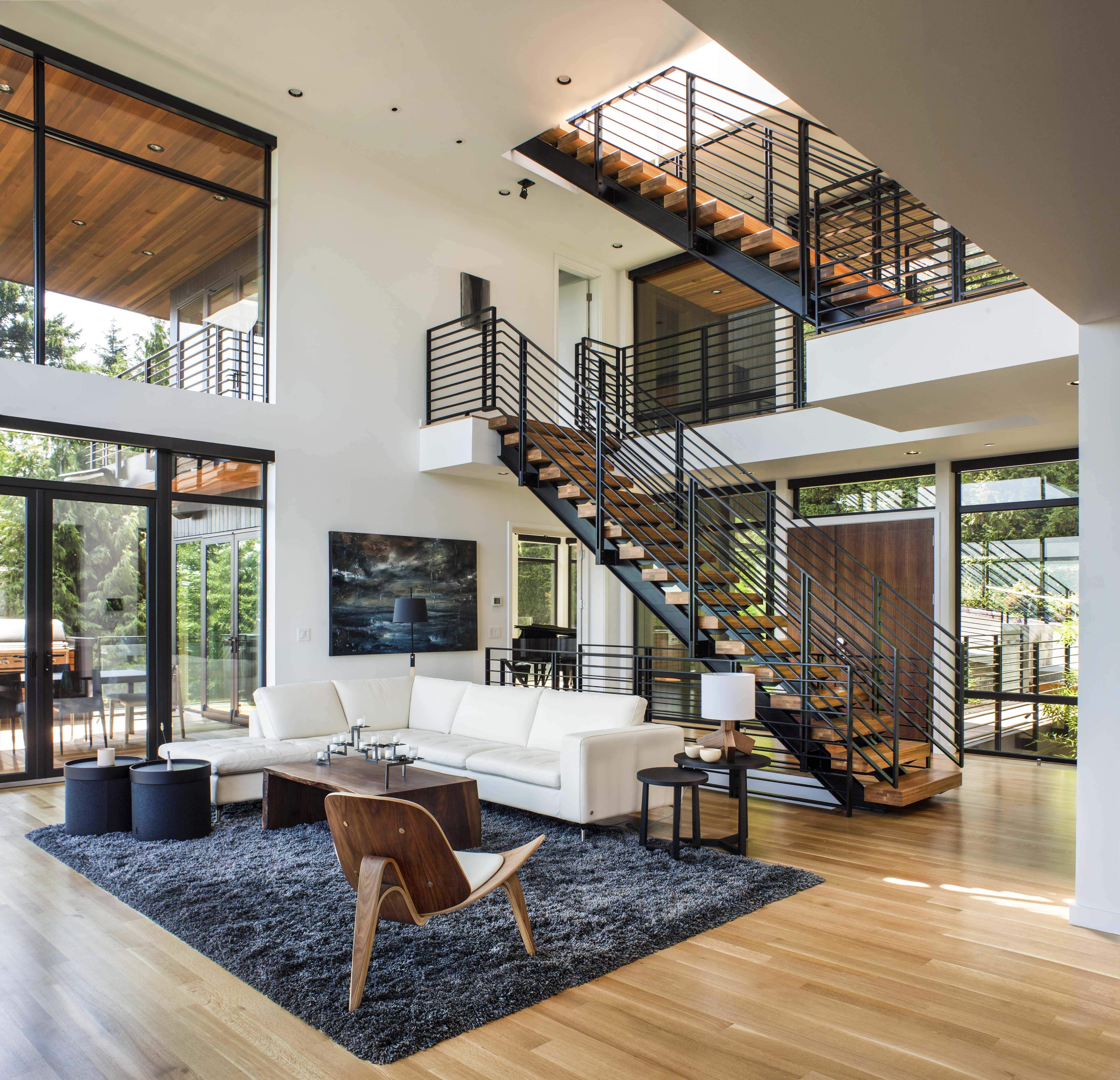 Music Box Residence by Scott   Interiores, Muebles de madera y Casas