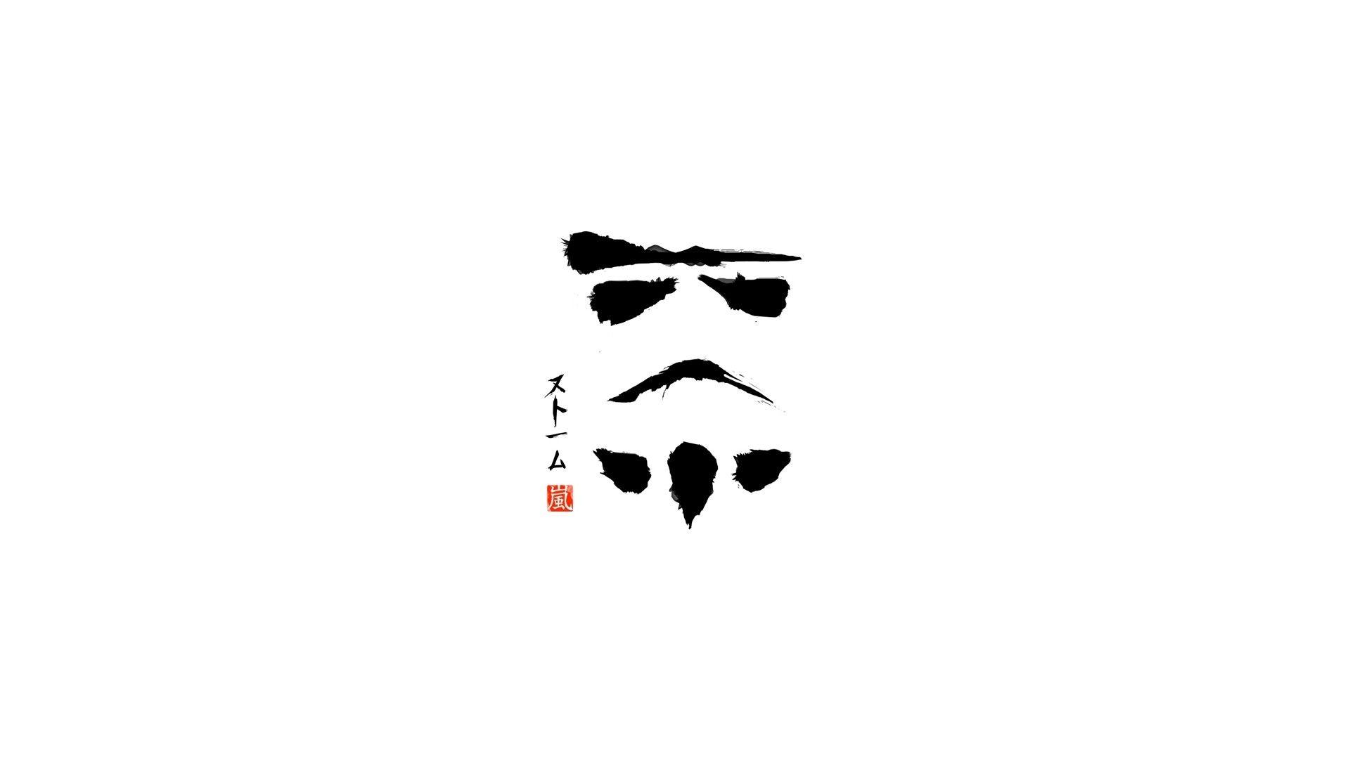 Abstract Star Wars Stormtroopers Solid Simplistic Simple 1920x1080 Wallpaper Star Wars Wallpaper Star Destroyer Wallpaper Vector Art