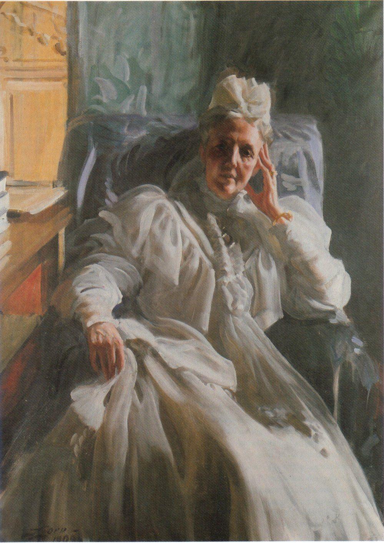 Queen Sophia of Sweden, Anders Zorn, 1909