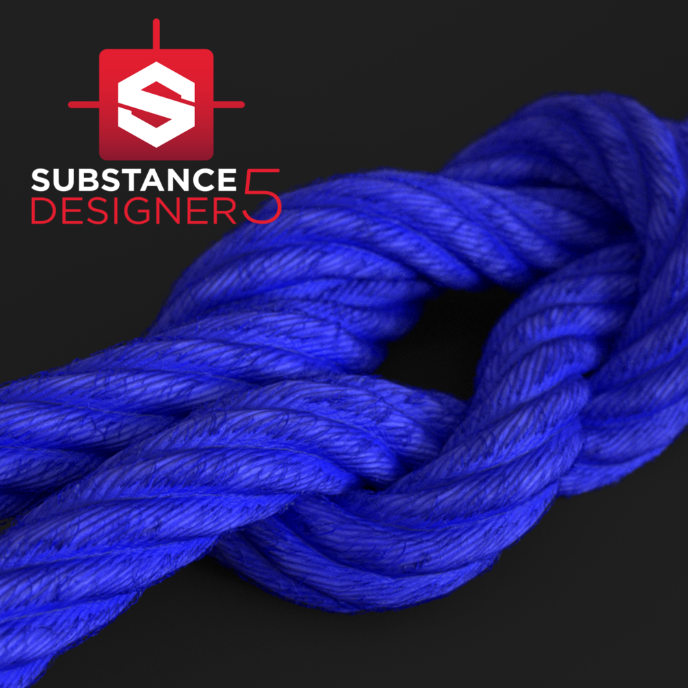 Rope Material - Substance Designer | tutorials and resources