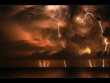 My best night's sleep is during thunderstorms.