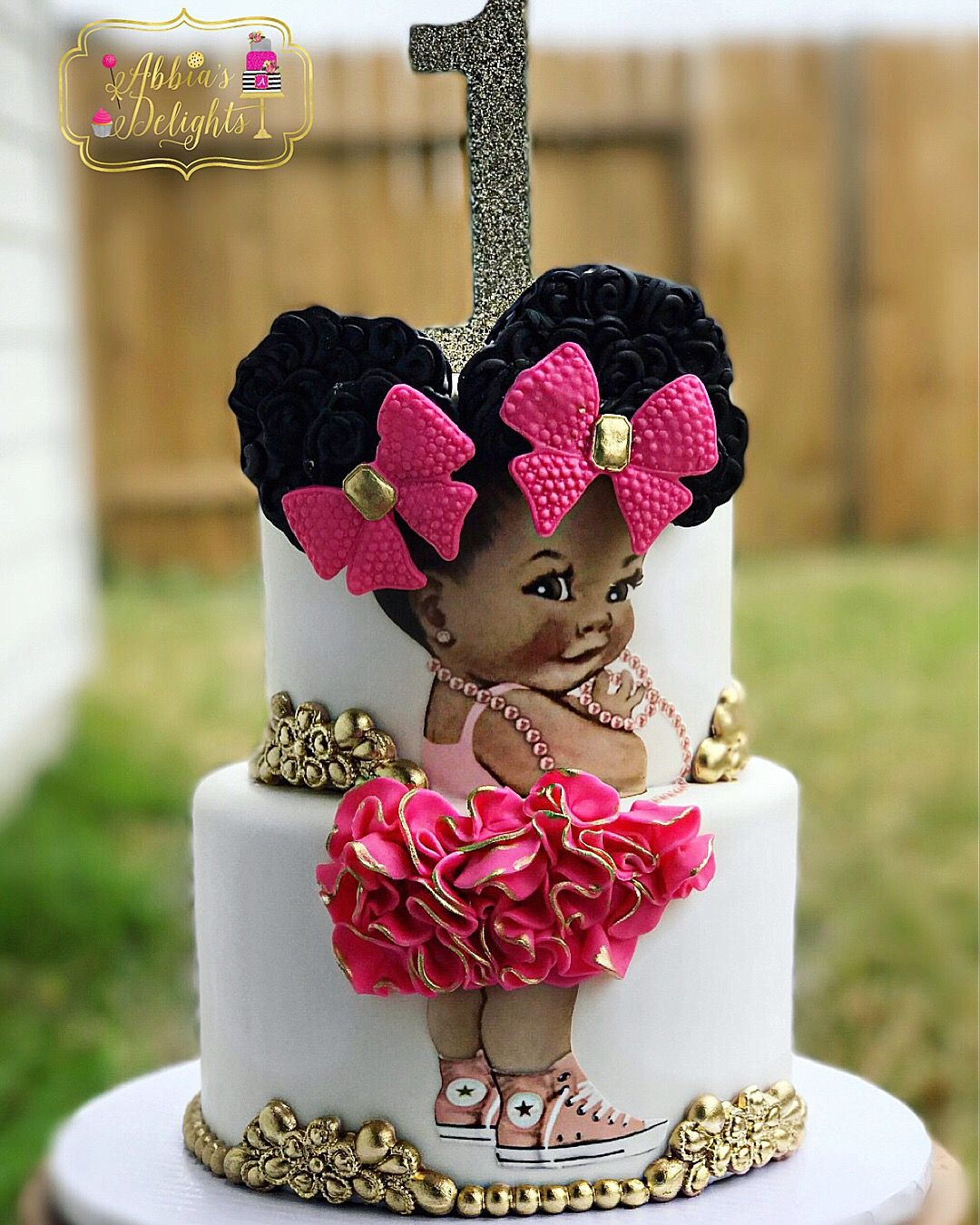 Amazing Cake Recipes From Scratch: Afro Puff Baby Cake. Baby Shower Cake, Birthday Cake