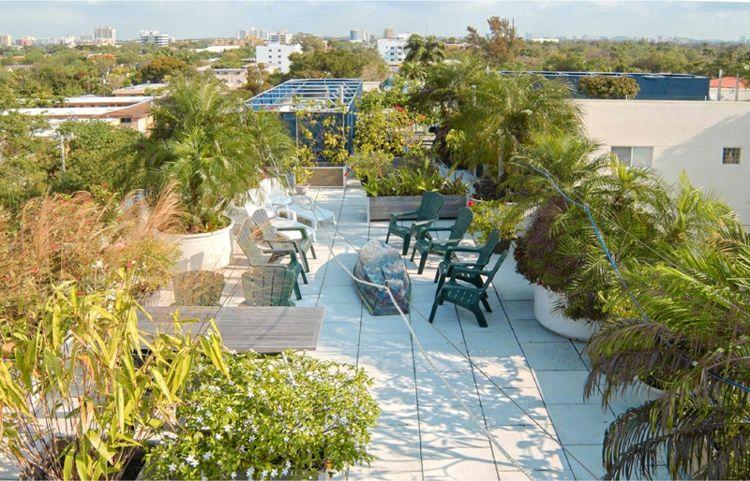 Terraza ático Moderna Estuoenda Plantas Terrace Garden