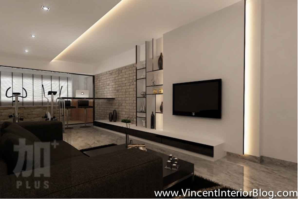 How to create a feature wall with photos -  Feature Wall Plus Interior Design Living Room Tv Feature Wall Designs And Ideas