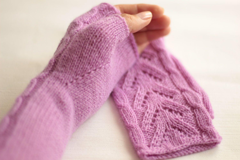 Long Fingerless Gloves Women S Boho 100 Wool Hand Knitted Warm Winter Hand Warmers By Sityfox On Etsy Fingerless Gloves Knitted Wool Gloves Knitted Gloves