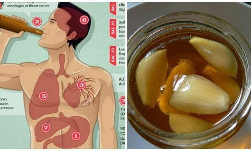 Vea lo que sucede cuando usted come ajo y miel en ayunas durante 7 días (además de la receta)