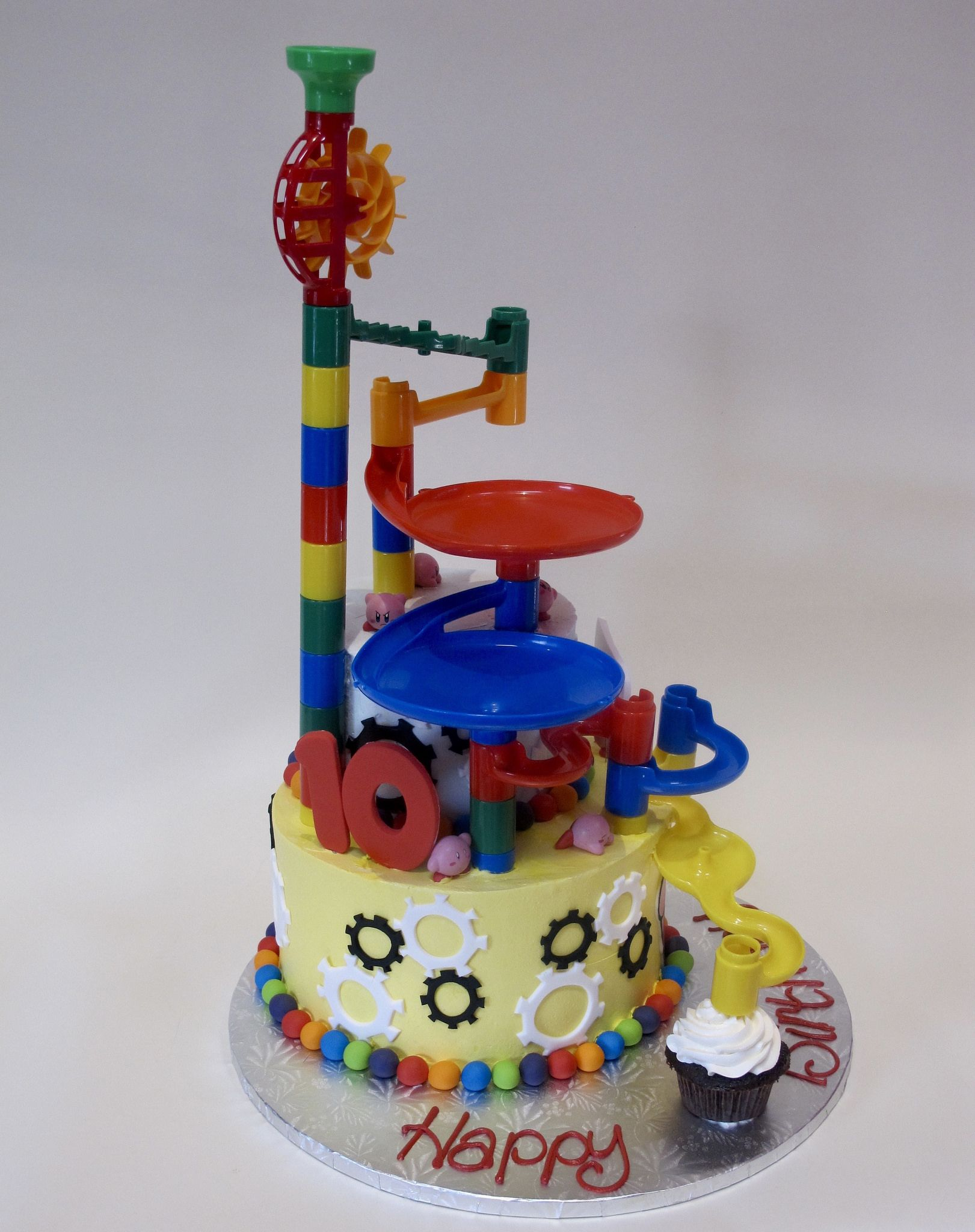 Colin S Marble Maze 10th Birthday Cake Side 2 300447 10 Birthday Cake Birthday Cake Childrens Birthday Cakes