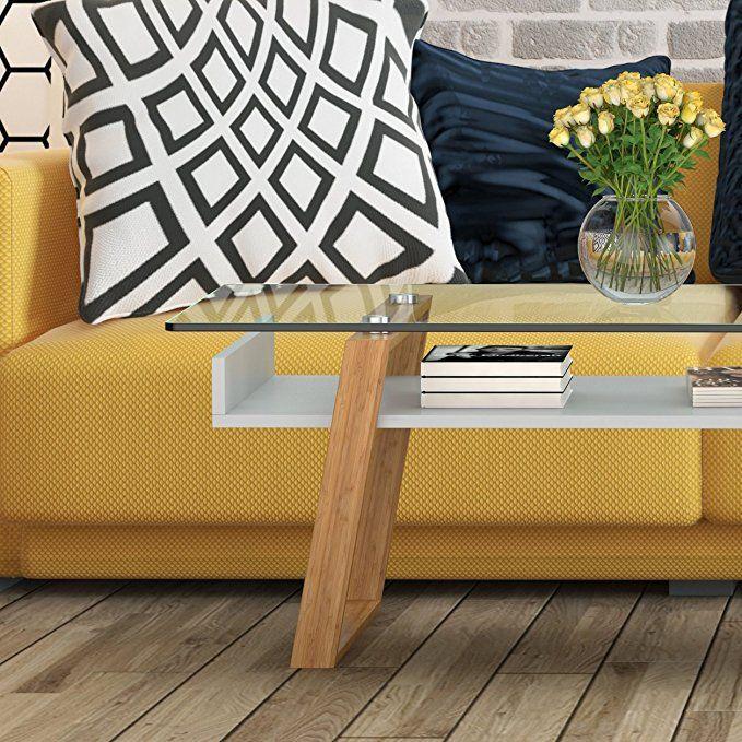 bonVIVO Designer-Couchtisch Donatella, Moderner Wohnzimmertisch und