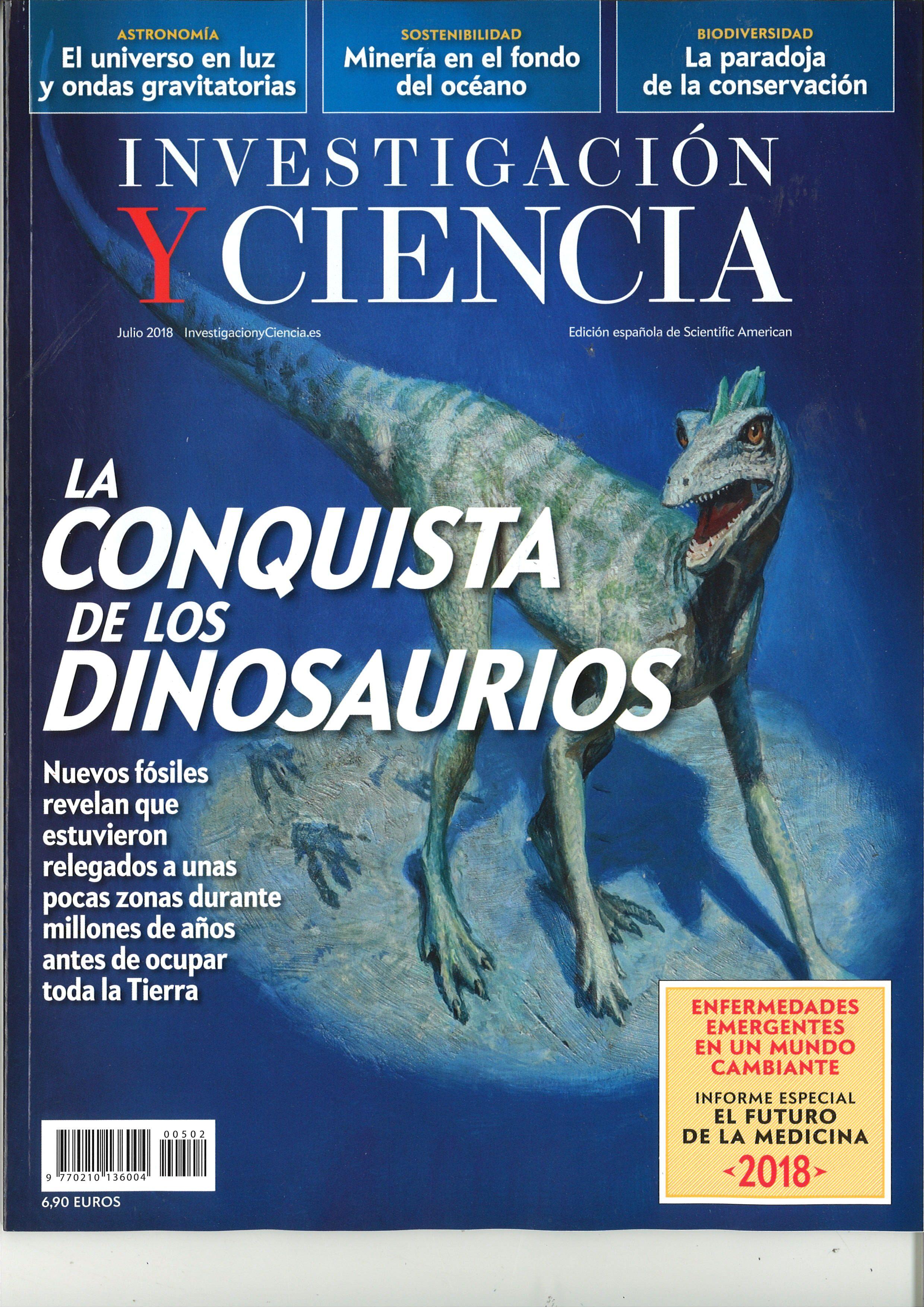 Investigacion Y Ciencia N 502 Julio 2018 Ciencia Ondas