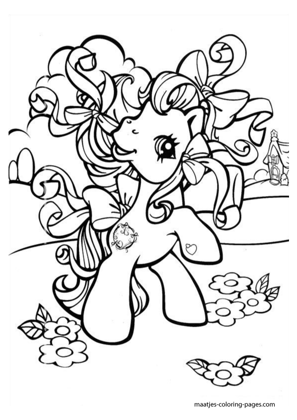 free printable my little pony generation 1 coloring sheets | How to ...