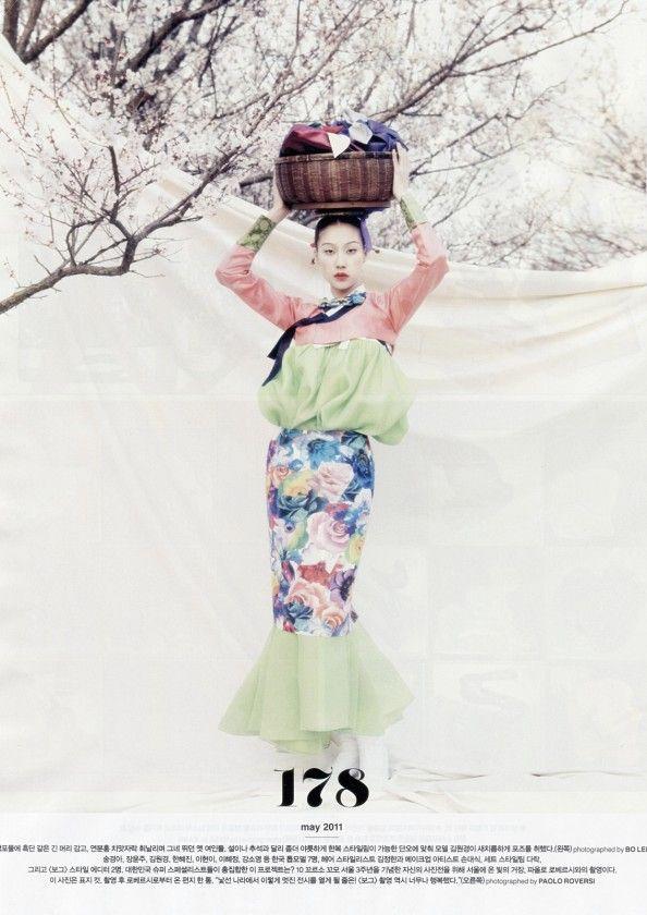 nice Vogue Coréia |  Melhores Imagens | Suplemento de Aniversário Março 2013