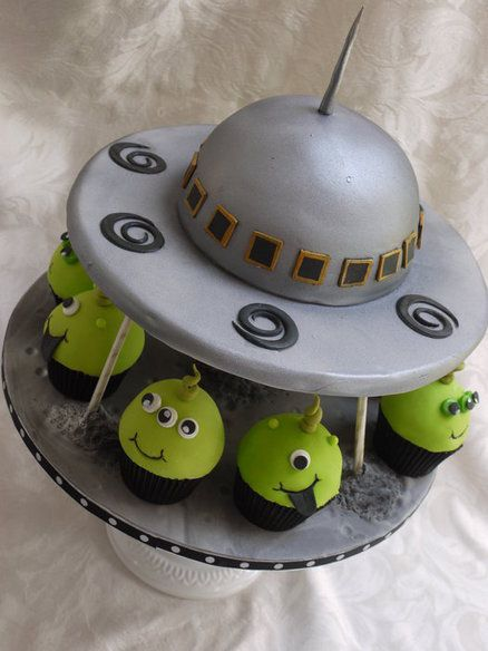 34++ Flying saucer wedding cake ideas