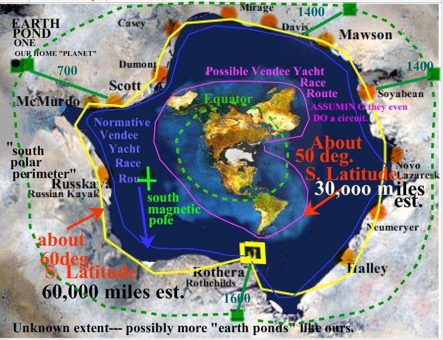 Rick potvins virtual circumnavigation of antarctica to decide if rick potvins virtual circumnavigation of antarctica to decide if earth is global or flat aerial gumiabroncs Choice Image