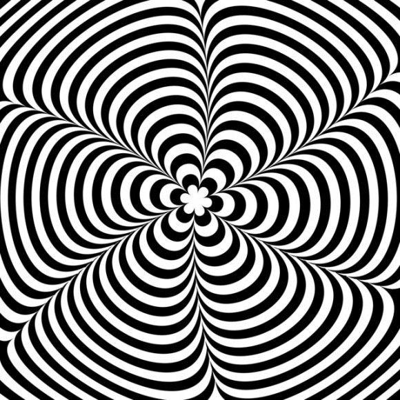Moving Black And White Illusion Optical Illusions Art Illusion
