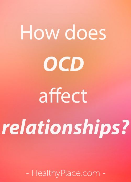Ocd and dating