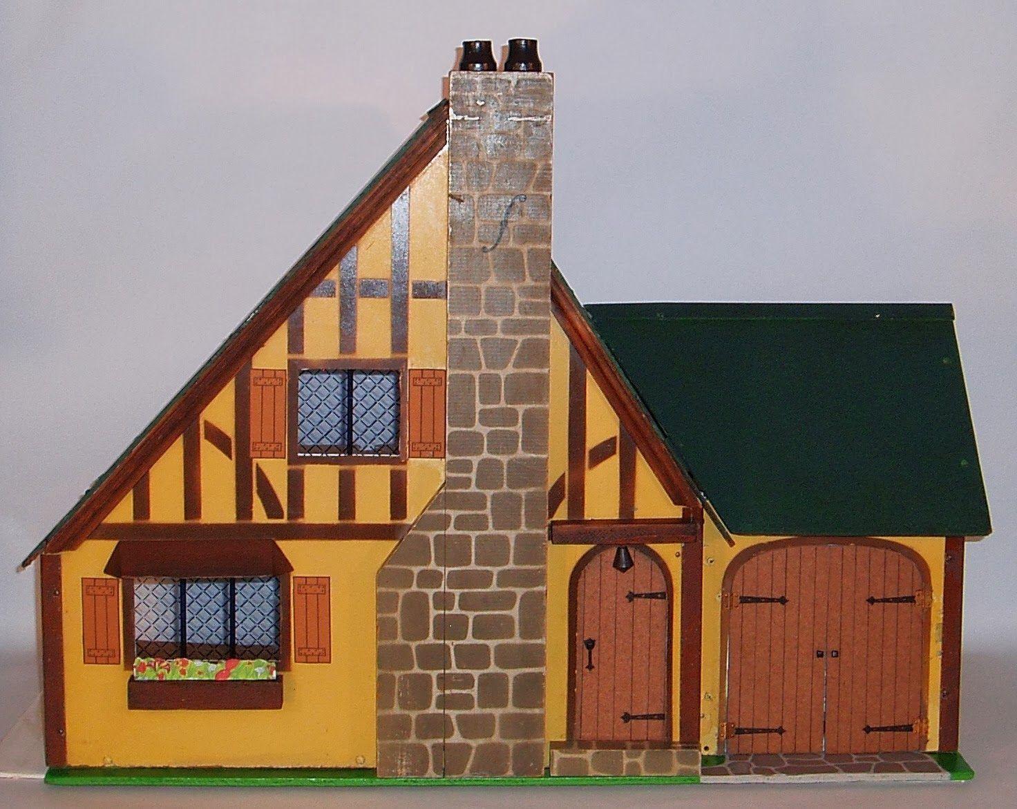 Rich Manufacturing Company Dollhouses by Rita Goranson