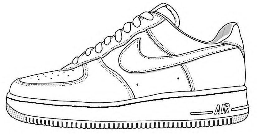 accesorios Arcaico Preocupado  nike force one boceto - Buscar con Google | Sanat ayakkabı, Moda karalama  defteri, Ayakkabılar