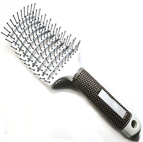 Ibeet Vented Hair Brush Professional Styling Hair Brush Detangling Thick Hair Vented Glide Thru Detangler F Long Thick Curly Hair Hair Brush Thick Hair Styles
