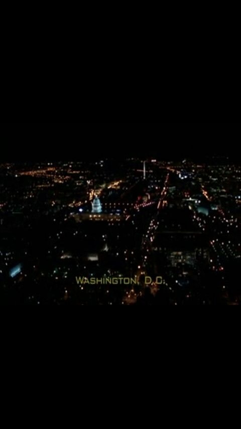 Washington Dc At Night Top View Near The White House Places