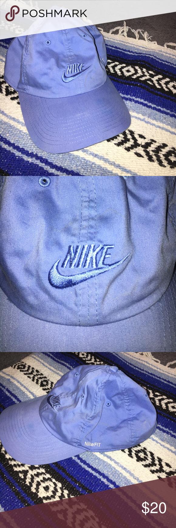 Blue Nike Dad Hat Light blue e00aa006c69