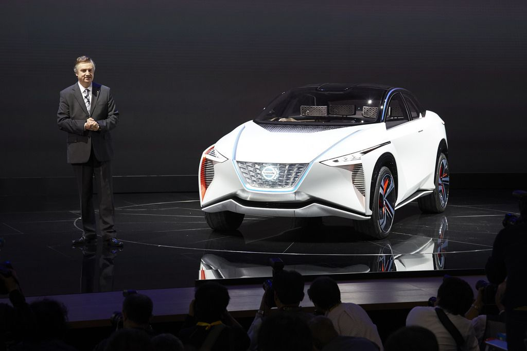 Nissan IMx Tokyo motor show, Electric cars, Nissan