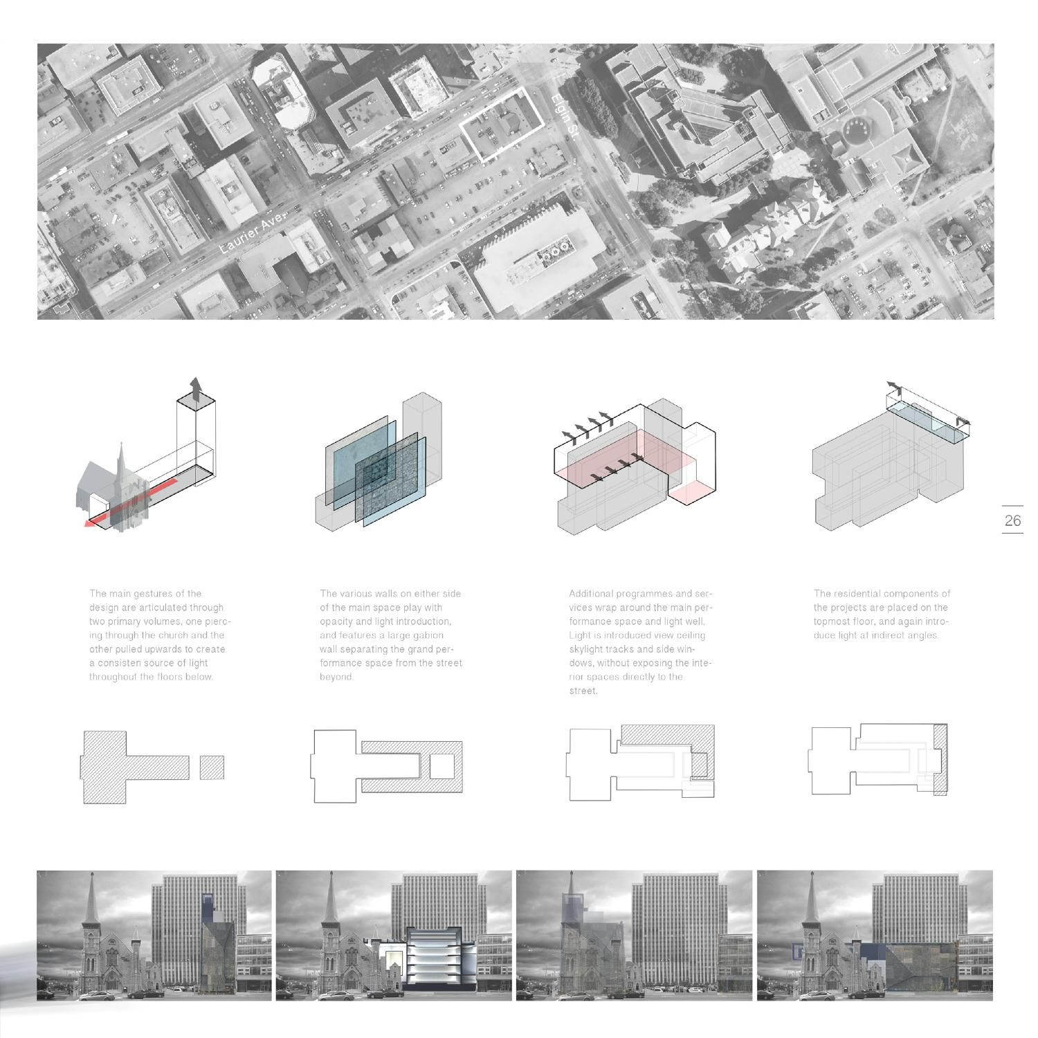 Architecture portfolio architectural presentation for Types of architecture design