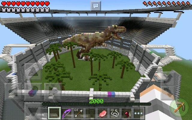Minecraft Jurassic Park map by Venom Rex | Minecraft