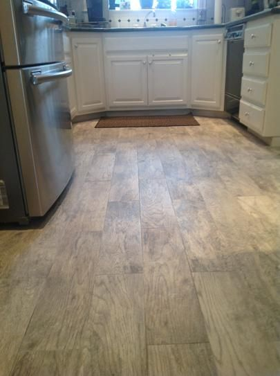 Marazzi Montagna Dapple Gray 6 In X 24 In Porcelain Floor And Wall Tile 14 53 Sq Ft Case Ulm7 The H Flooring Porcelain Flooring Luxury Vinyl Flooring