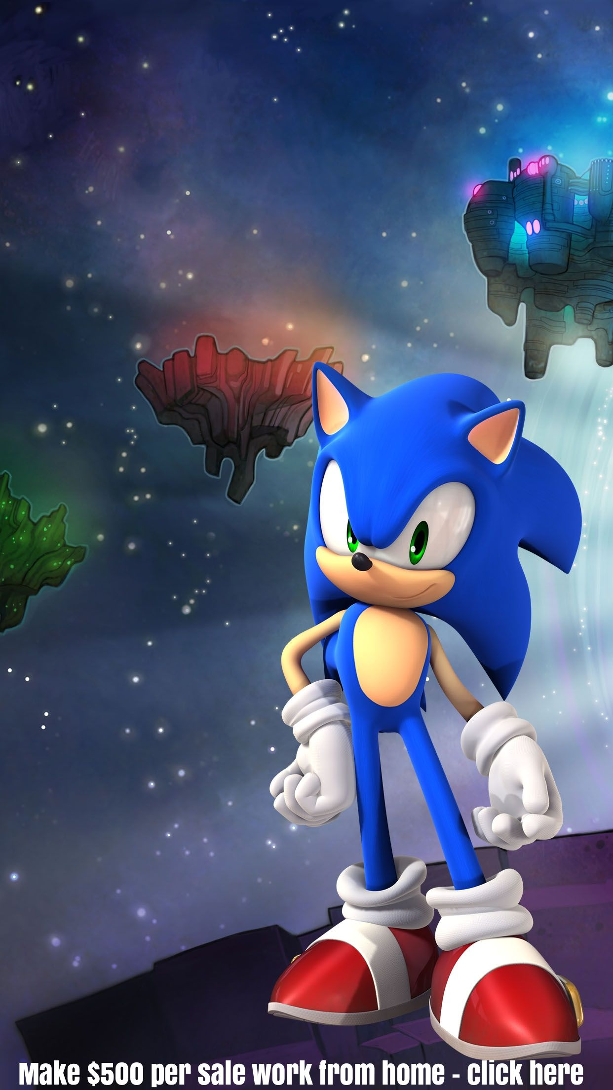 Sonic the Hedgehog iphone wallpaper background Cartoon